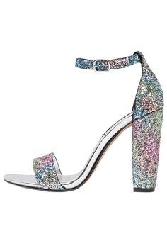 Chaussures Steve Madden CARRSON - Sandales à talons hauts - multi glitter…