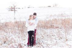 Winter Engagement Photos - Hawks Inn - Delafield Engagement