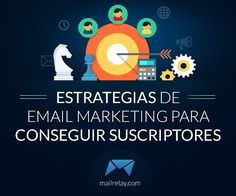 Estrategias de Email Marketing para conseguir suscriptores