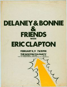 Delany & Bonnie & Friends w/ Eric Clapton I've got a never ending Love for you.