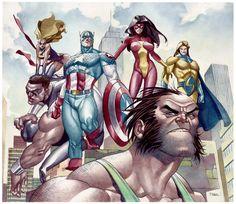 Avengers •Thony Silas Dias de Aguiar