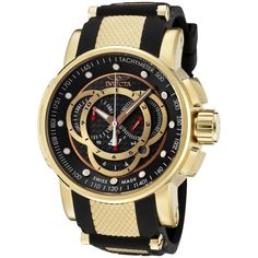 3c31d79ada4 relógio invicta s1 rally - 0896 - caixa manual e garantia Relogios  Dourados