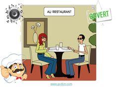 Comment se débrouiller au restaurant, les phrases essentielles pour commander de la nourriture qui peuvent vous aider pendant votre séjour en France.