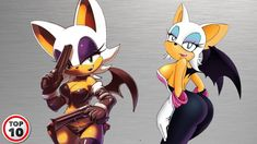 Top 10 Rouge the Bat Surprising Facts Ice Queen Adventure Time, Adventure Time Girls, Cartoon Fan, Girl Cartoon, Sonic Fan Art, Sonic 3, Shadow And Rouge, Rouge The Bat, Sonic And Shadow