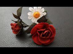 Güller ve papatyalar..iğne oyası#yeni - YouTube Daisy, Needle Lace, Costume, Pink, Embroidery, Crochet, Floral, Flowers, Jewelry