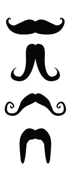moustache printable... Try with laser printer transfer