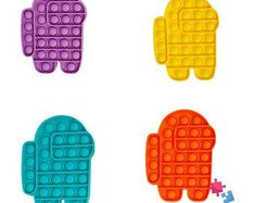 Toys For Girls, Kids Toys, Finger Fidget, Fidget Tools, Cool Fidget Toys, Pop Bubble, Stress Toys, Sensory Toys, Shopping