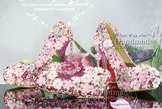 4a45a6b48634d6 New Sexy Luxury Fuschia Hotpink Swarovski High Heel Platform Pumps Wedding  Bridal Shoes Dancing Shoes with matching Hotpink Clutch Handbag