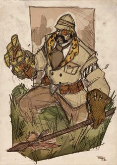 Steampunk Kraven the Hunter