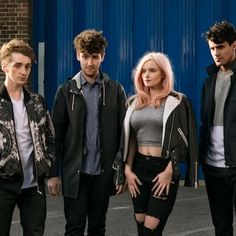Clean Bandit chat about new Game Of Thrones style video Clean Bandit, Jess Glynne, Alexandra Palace, Perfect Music, Ripped Knees, Ribbed Crop Top, Celebs, Celebrities, My People