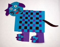 """making an animal or person maybe under a """"blanket"""" extra for their weaving project."""