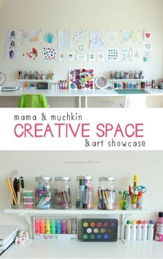 Setting Up An Inviting Creative Space | Mama.Papa.Bubba.