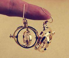 18K gold  Harry Potter earrings Free dream earrings by manualstorm, $7.99
