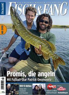Promis, die angeln. Gefunden in: Fisch & Fang (Angeln) - epaper, Nr. 10/2015