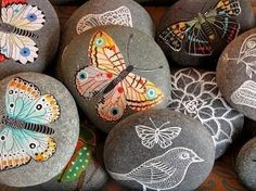 Painted Rocks Rock! Painted rocks have popular craft for centuries. Recently, this art activity has seen a resurgence in popularity. Rock is an art base that is easily accessible to most people and is affordable when on a budget--free, in most cases. Artfully transform rock using a number of medium