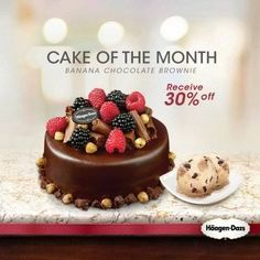 23 Apr 2016 Onward: Haagen Dazs Banana Chocolate Brownie