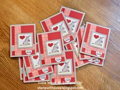 Valentine Day Cards, Valentine Ideas, Stamping Up Cards, Animal Cards, Heart Cards, Scrapbook Cards, Scrapbooking, Card Sketches, Cool Cards