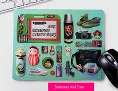 Stationery Pattern Mouse Pad