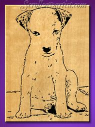 calico cat scroll saw pattern | Scroll Saw Patterns :: Cats & Dogs :: Dogs :: Dog portraits :: Jack