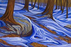 """Almost Like The Blues, Haliburton, Ontario, 16"""" x 20"""" giclee print - Limited Edition of 50 - Canadian Art"""