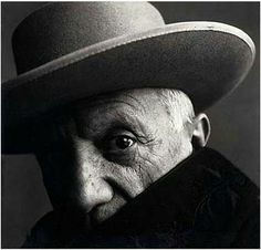 favorite portrait of Picasso. by Irving Penn