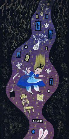 mary blair - Alice in wonderland