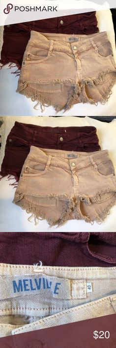 Brandy Melville Shorts Brandy Melville shorts. Tagged 40. Fit like a 25!  Price is for each one separately. (Please indicate in the comments which color you are purchasing) Brandy Melville Shorts