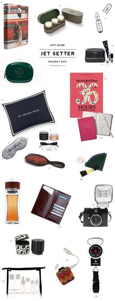 Gift Guide Holiday 2012 - Jet Setter