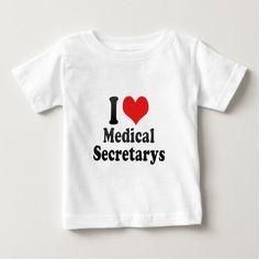 I Love Medical Secretarys T Shirt, Hoodie Sweatshirt