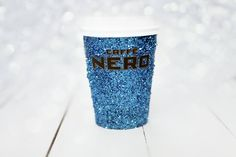 Caffe Nero Blue Glitter Cup - Happy New Year 2015.
