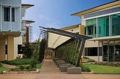 Lake Vista Green Arbour by Ronstan Tensile Architecture