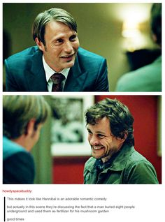 Got to love Hannibal