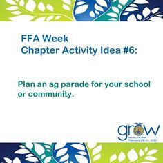 FFA Week Chapter Activity Idea #6