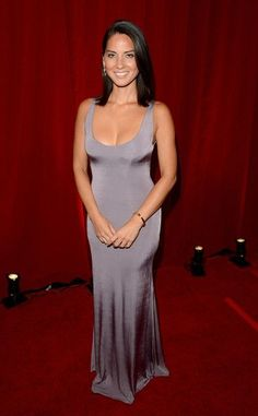 Olivia Munn poses backstage during the 2012 ESPY Awards at Nokia Theatre L.A. Live on July 11, 2012 in Los Angeles