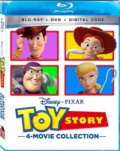 Disney Blu Ray, Disney Pixar, Bonnie Hunt, John Ratzenberger, Wallace Shawn, Tony Hale, Michael Key, Jay Hernandez, Kelsey Grammer