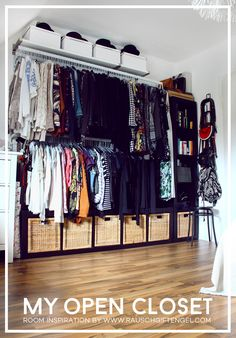 Open Closet: How I Organize All My Clothes