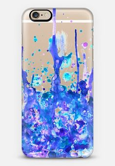 Cell Phone Cases - Dreamy Pastel Paint Splatter II iPhone case by Organic Saturation Coque Iphone 5s, Case Iphone 6s, Iphone Case Covers, Diy Case, Diy Phone Case, Cute Phone Cases, Ipad, Mobiles, Accessoires Iphone