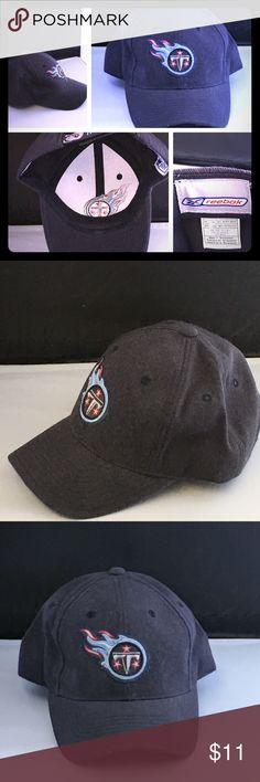 Tennessee Titans NFL Navy Blue Cap/Hat Fashion Tennessee Titans NFL Navy Blue Adjustable Cap/Hat  Like New Without Tags   Please check out my closet for variety of other items. Just tap on my closet name.   #tennessee #titans #nfl #hat #cap #accessories #clothing #reebok #sports #football #navy #blue Reebok Accessories Hats