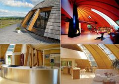 Inside Huge Houses inside of the dome house | nonconventional living = interesting