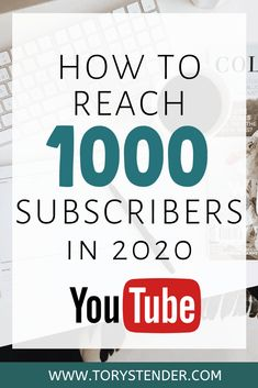 How I got my first 1000 subscribers on Youtube - Tory Stender My tips through personal experience on how to grow your youtube channel authentically! How to reach 1000 youtube subscribers, 1000 youtube subs in 2020, how to gain subscribers quick on youtube, how to monetize your youtube, grow your youtube channel authentically, 1000 subscribers in 1 year, 1000 subscribers youtube fast, youtube growth tips, youtube growth tricks, youtube growth fast, youtube growth authentic, real youtube subs Youtube How To Make, Making Youtube Videos, You Youtube, Figured You Out, Youtube Hacks, Starting A Podcast, What Is The Secret, Make Blog