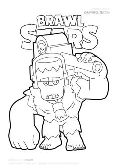 Brawl Stars Coloring Pages Frank You are in the right place about Brawl Stars Coloring Pages pam Her Star Coloring Pages, Boy Coloring, Coloring Pages For Boys, Coloring Sheets, Colouring, Blow Stars, Harry Potter Perler Beads, Nail Photos, Aesthetic Stickers