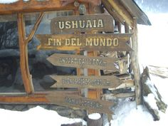 Ushuaia, la patagonia argentina  the end of the world