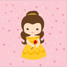 Quadro fofo Princesa Bela Snow White, Disney Characters, Fictional Characters, Disney Princess, Kids, Printables, Stickers, Bedroom Frames, Cute Photos