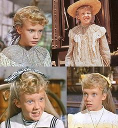 Pollyanna Whittier. I still have my baby doll that I played Pollyanna with! Put it in my mouth and climbed along the edge of my sisters loft bed and then dramatically fell to the ground. I'm realizing was no hope for me to do anything else with my life by act.