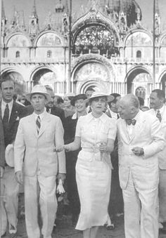 Joseph and Magda Goebbels in Italy