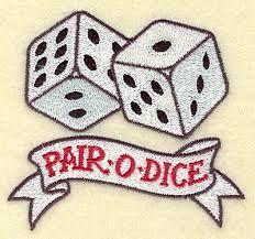 dice tattoo - Google Search