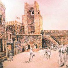 Ricostruzione della piazza de sa Majora