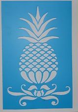 Stencil/template/mask - A4 pineapple