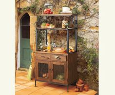 Bon Olive Grove Bakeru0027s Rack   Olive Grove U0026 Old Vine Collections   Collections    Furniture   NapaStyle