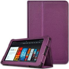 CaseCrown Bold Standby Case (Purple) for Amazon Kindle Fire Tablet. -- 51% DISCOUNT & FREE SUPER SAVER SHIPPING for a limited time!  $15.21 --- http://www.pinterest.com.itshot.me/r5
